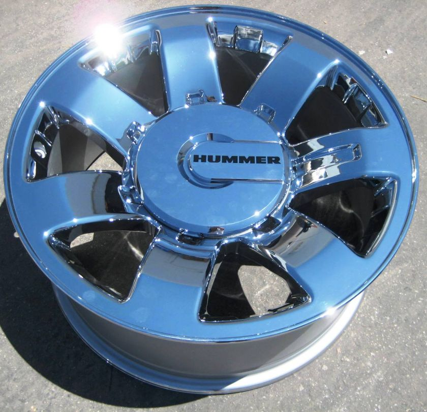 20 FACTORY HUMMER H2 OEM CHROME WHEELS RIMS GMC 8 LUGS SIERRA